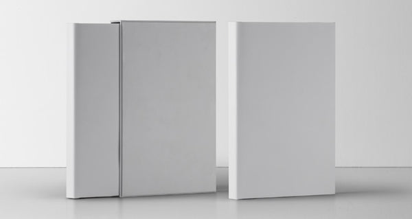 Free Slipcase Book Psd Mockup Design Front View - CreativeBooster