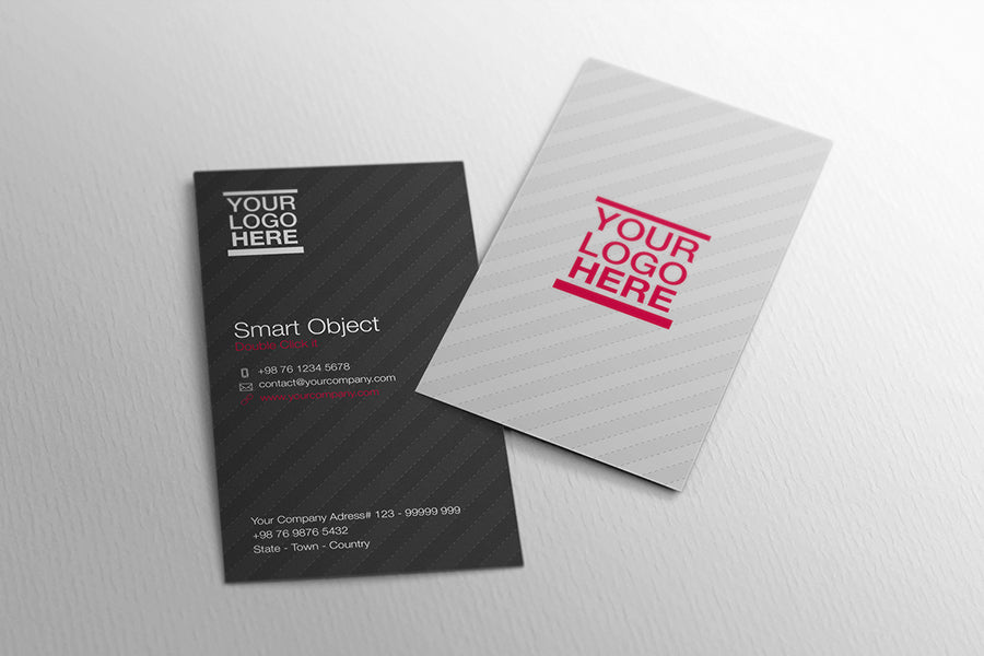 Free 2 x vertical and horizontal business card mockups creativebooster free 2 x vertical and horizontal business card mockups colourmoves
