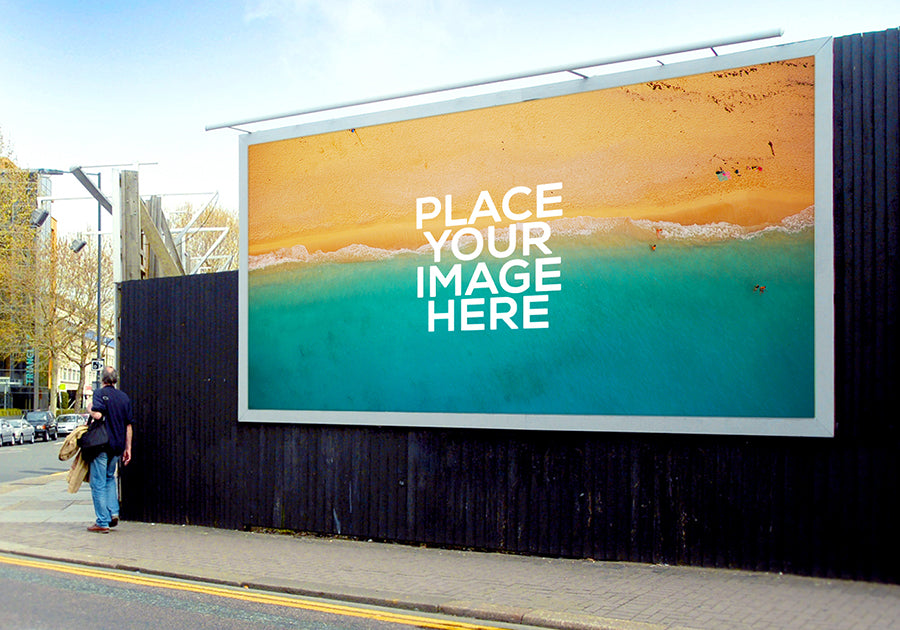 free 3 x billboard advertising mockups