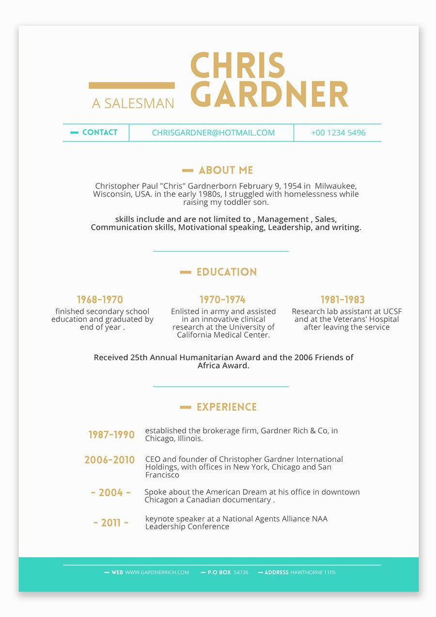 free minimalistic resume template in photoshop  psd  and powerpoint  p
