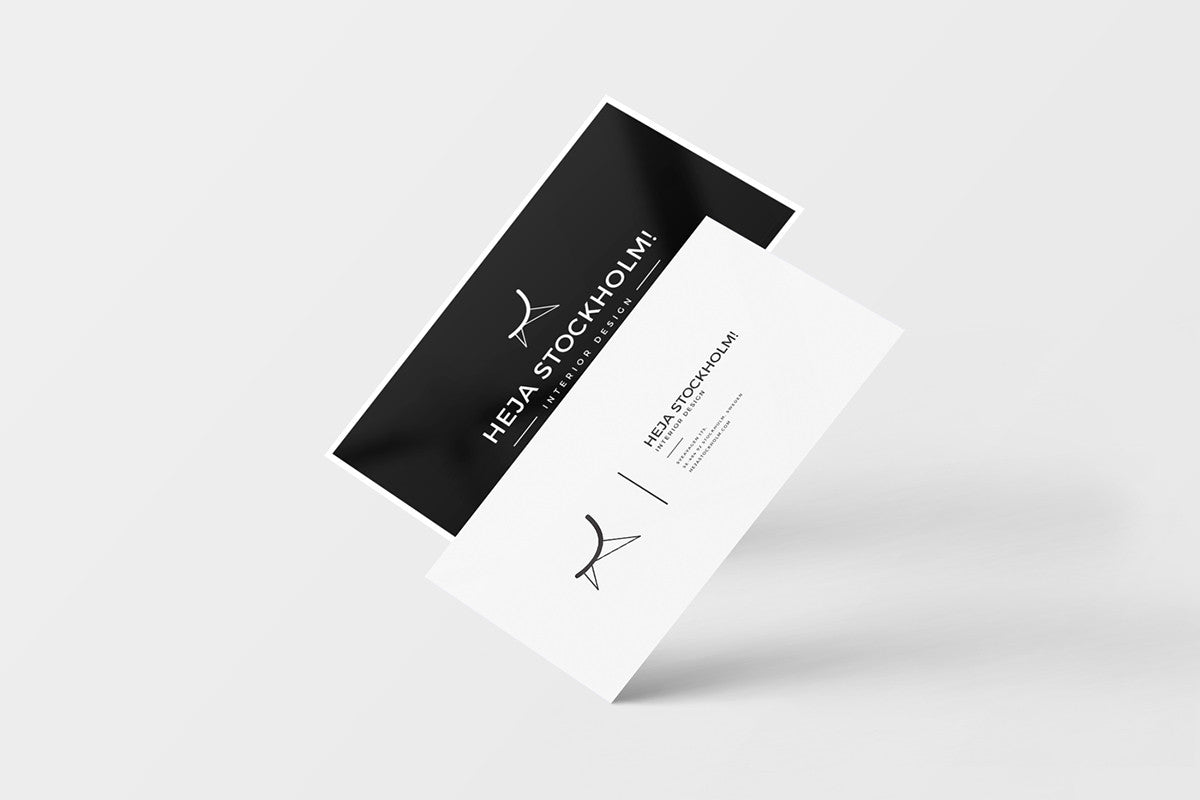 8 Free Clean Business Card Mockups - CreativeBooster
