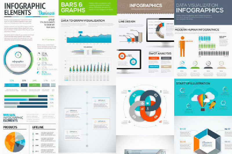 10 free infographic vector templates