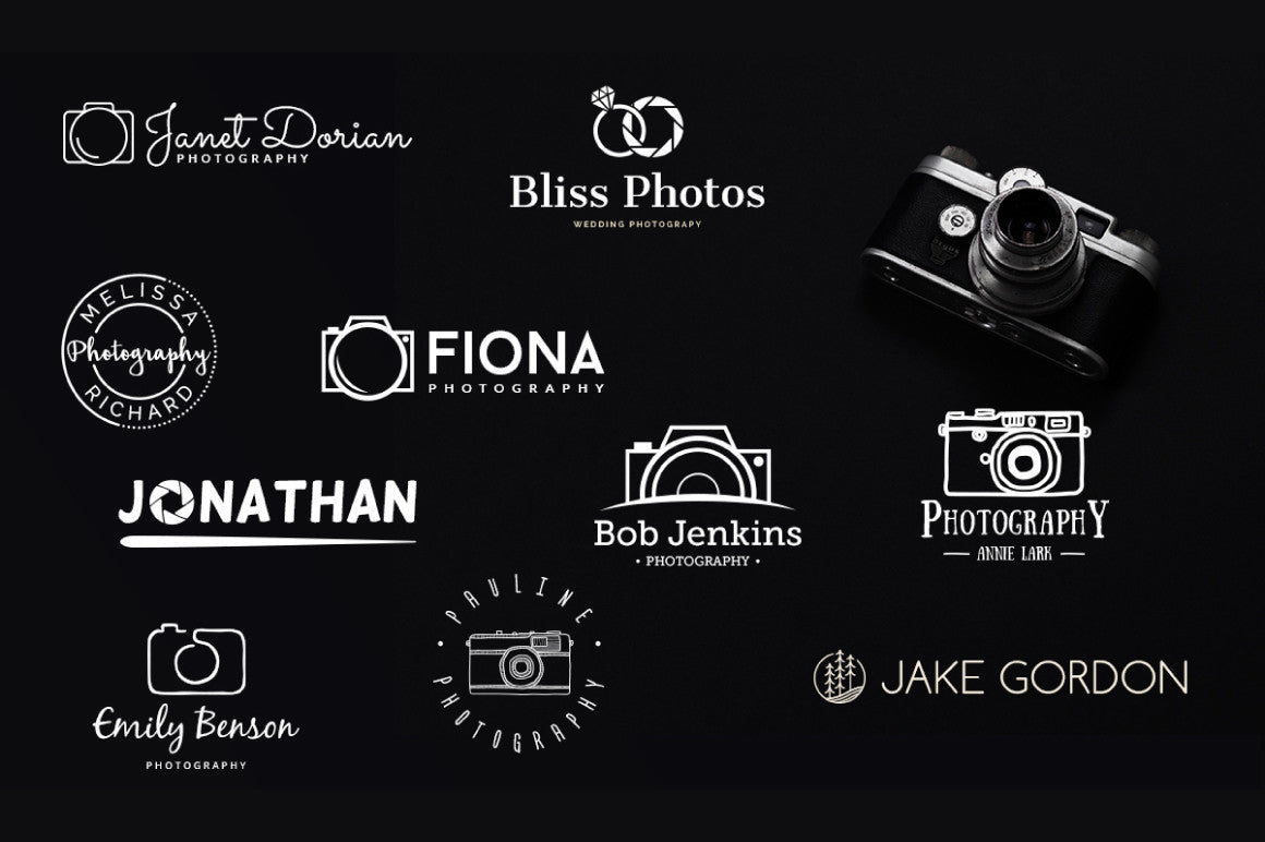 free photography logo design - Ideal.vistalist.co