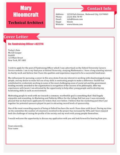 Free Technical Assistant Cover Letter Template In Microsoft Word DOCX Format