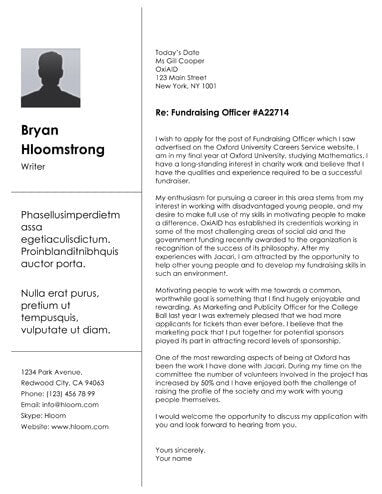 Free Creative Brick Cover Letter Template in Microsoft Word ...