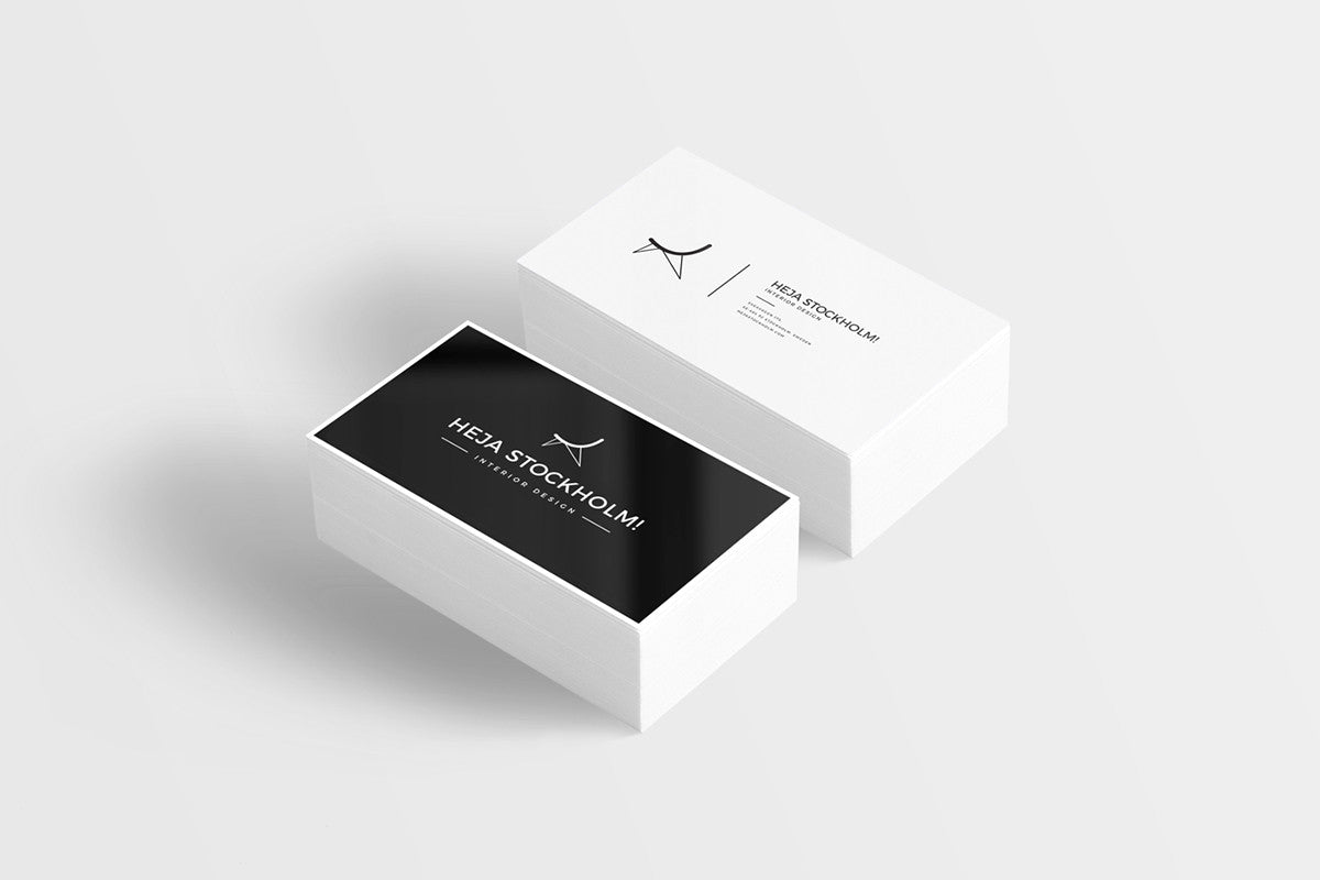8 free clean business card mockups creativebooster 8 free clean business card mockups colourmoves Images