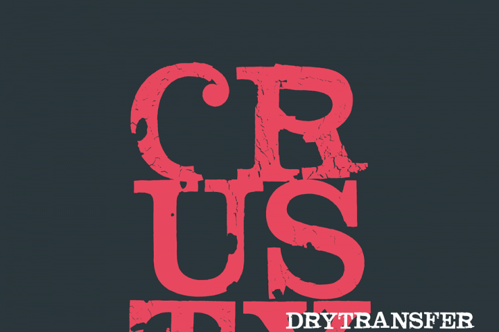 Free LRC Dry Transfer Clarendon Crusty Typeface