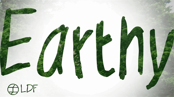 Free Earthy Font Creativebooster