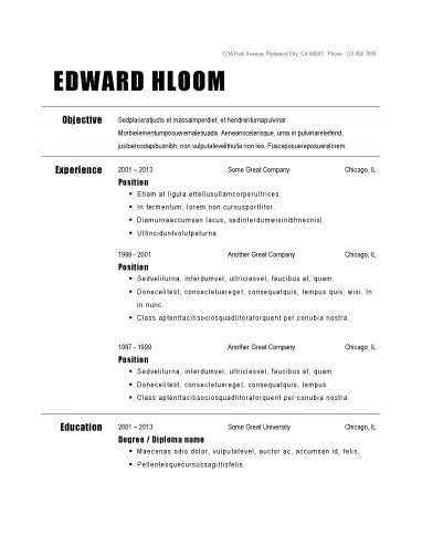 free resume templates tagged bold creativebooster