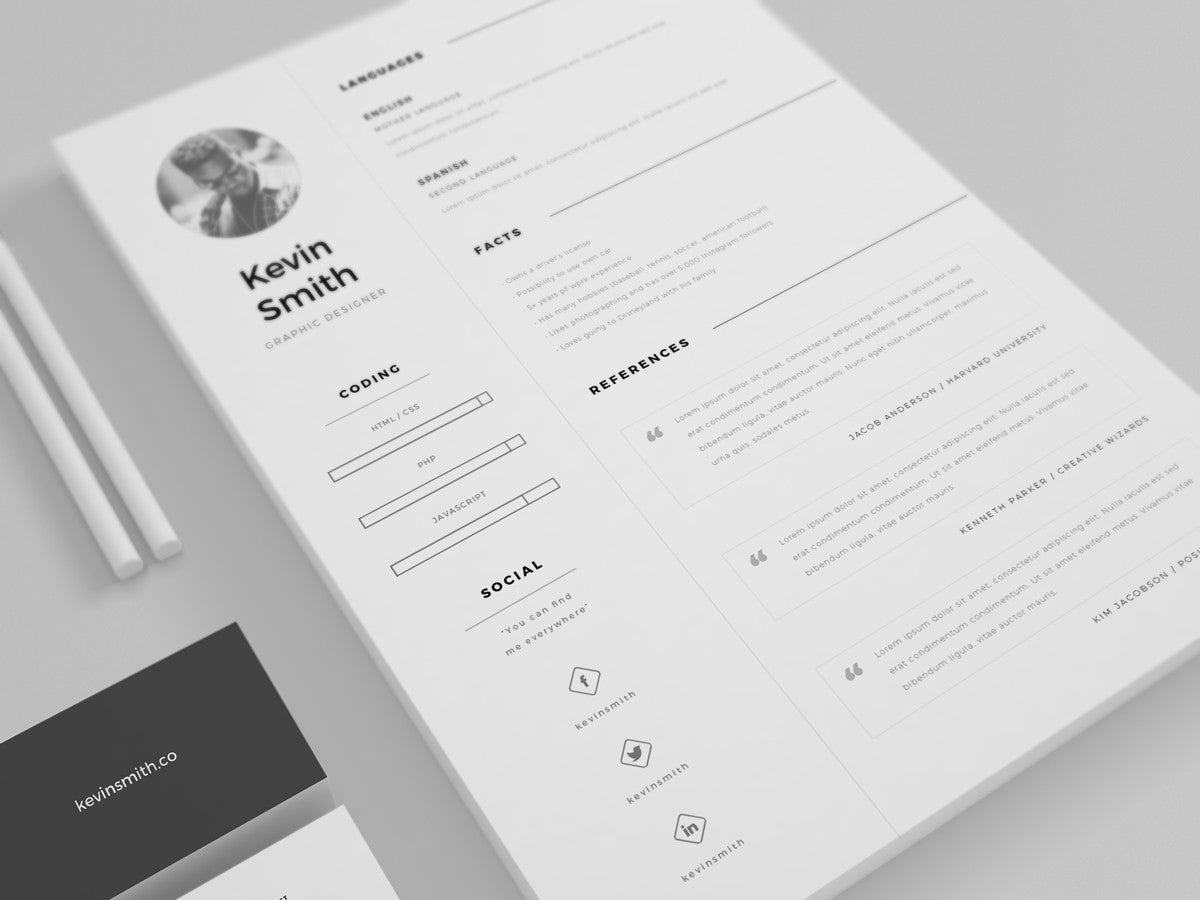 resume builder template free%0A clean cv template