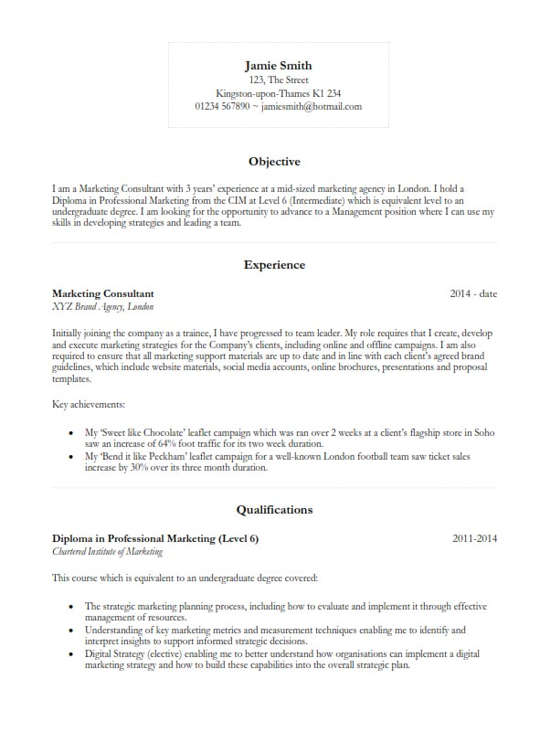 free basic cv resume template 2018 in microsoft word  docx
