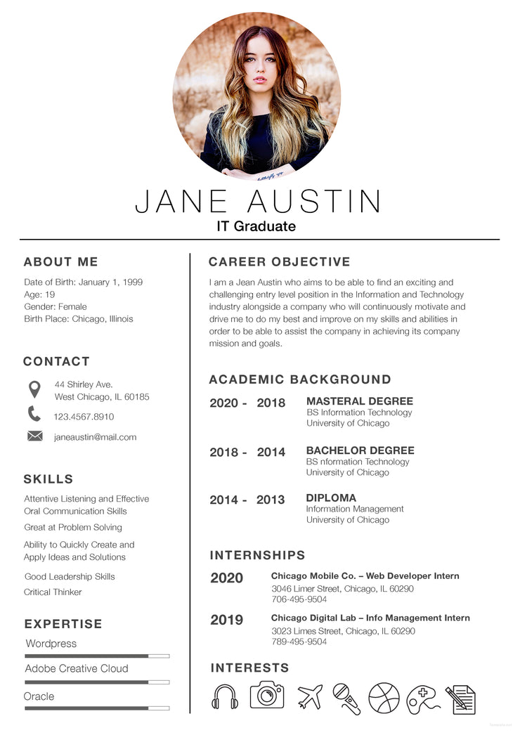 free basic fresher resume cv template in photoshop  psd  and microsoft