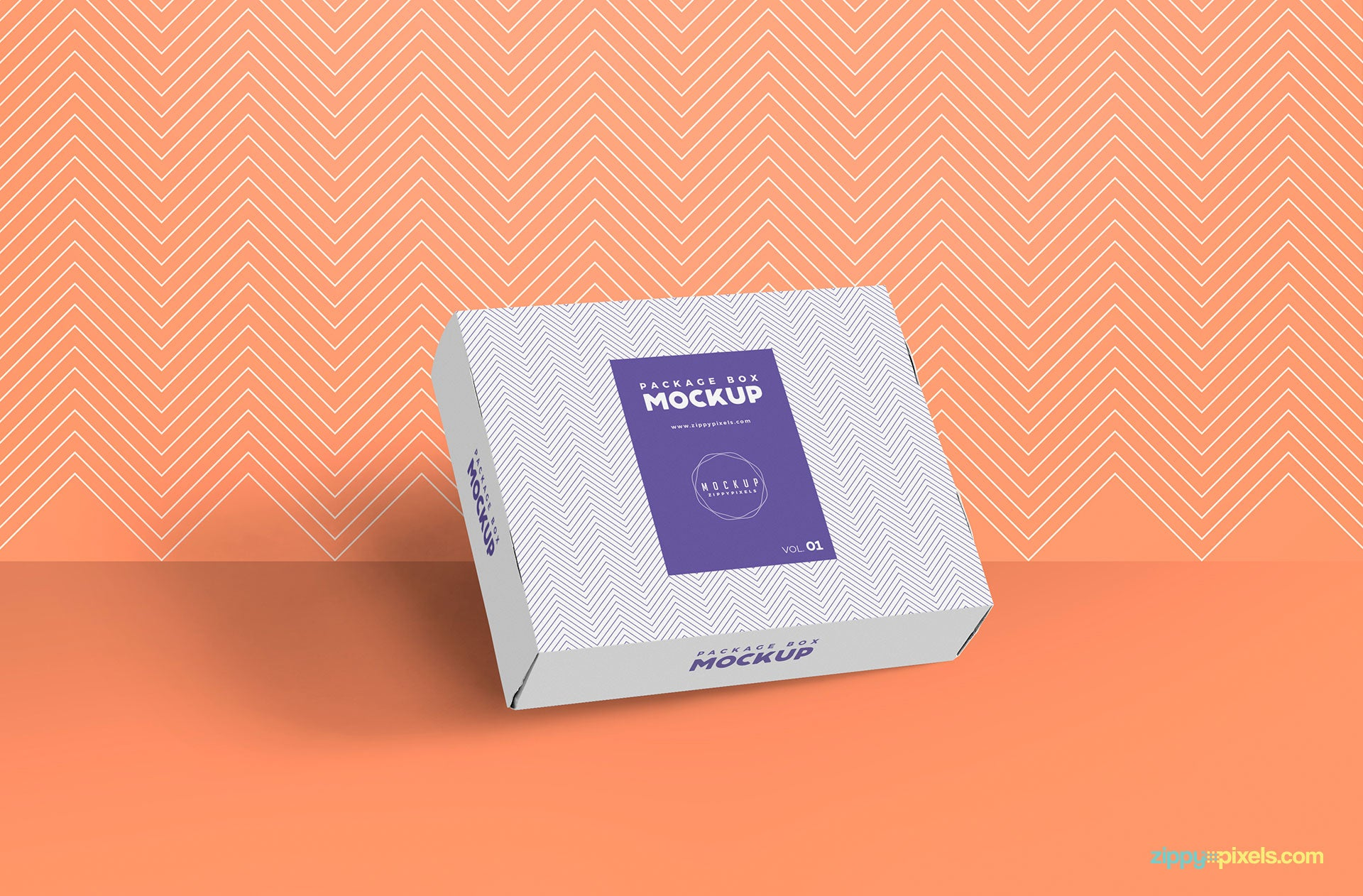 Free Gorgeous Box Packaging Mockup Creativebooster