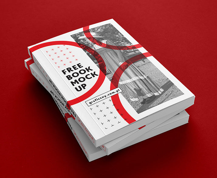 free 7 views of thick book or brochure mockup creativebooster