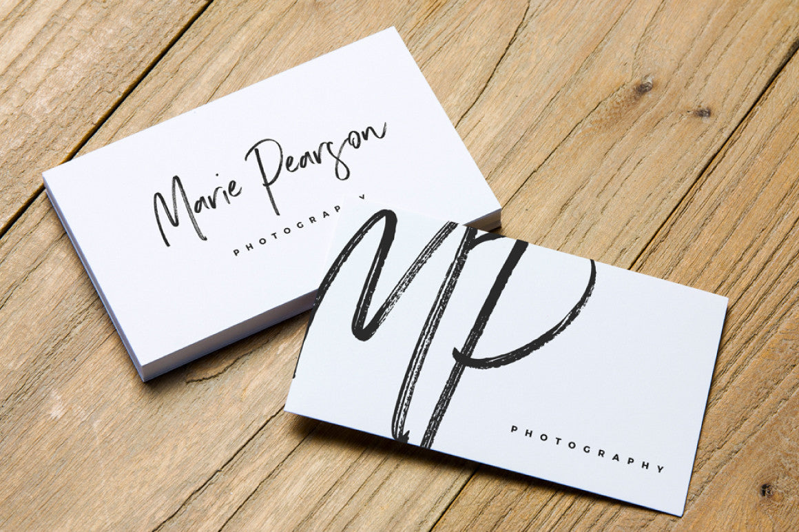 2 Free Business Card Mockups - CreativeBooster