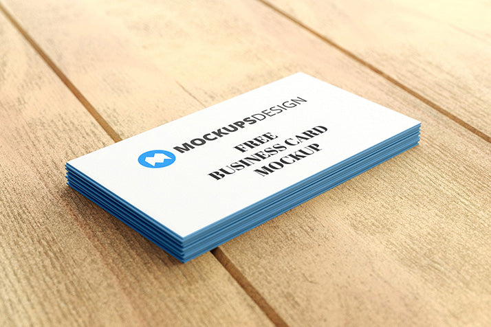 Free business card mockups creativebooster free the most basic business card mockup colourmoves