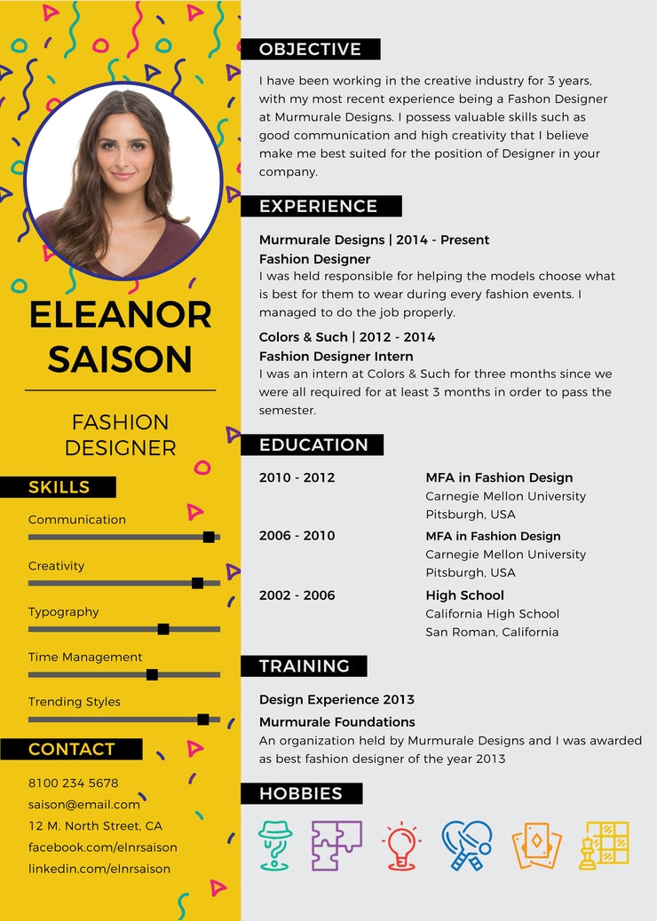 free designer resume cv template in photoshop  psd   illustrator  ai