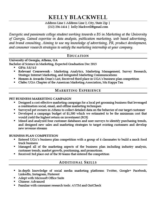 Entry Level Resume Template Word 8
