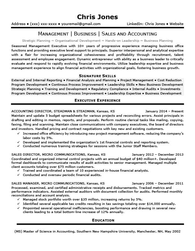 free career life executive resume templates in microsoft