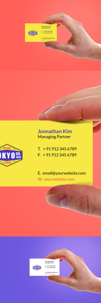 Free business card mockups creativebooster free hand holding yellow business card mockup psd reheart Choice Image