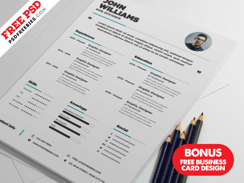 Free cv resume and business card design templates in photoshop psd free cv resume and business card design templates in photoshop psd format wajeb