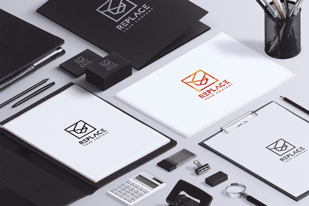 Free isometric stationery mockup scenes including macbook pro free isometric stationery mockup scenes including macbook pro notebook and business card mockup reheart Image collections