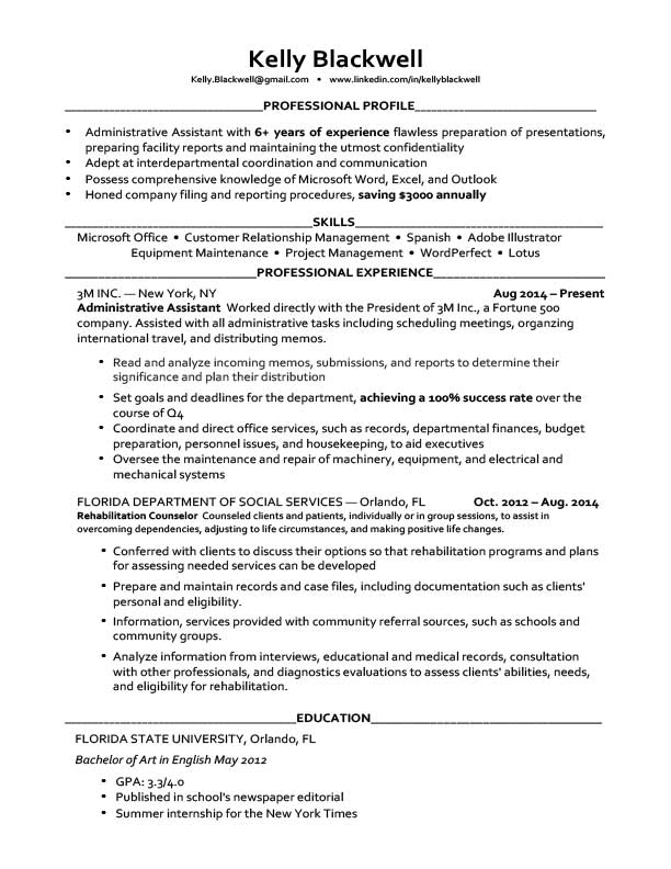 Free Resume Templates In Microsoft Word Docdocx Format