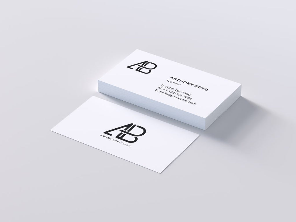 Free Business Card Mockups tagged \