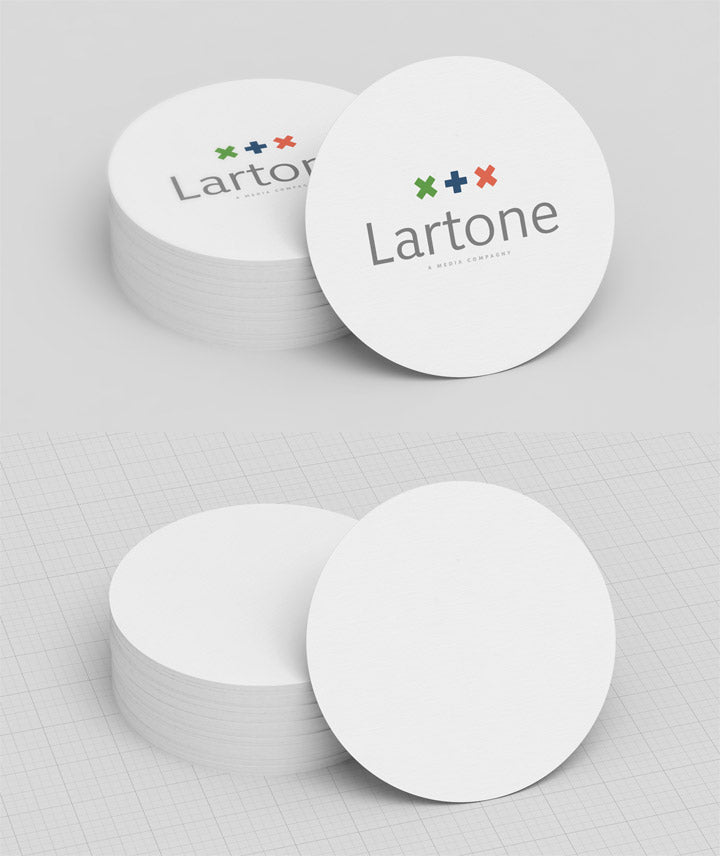 Free white circle business card mockup creativebooster free white circle business card mockup colourmoves