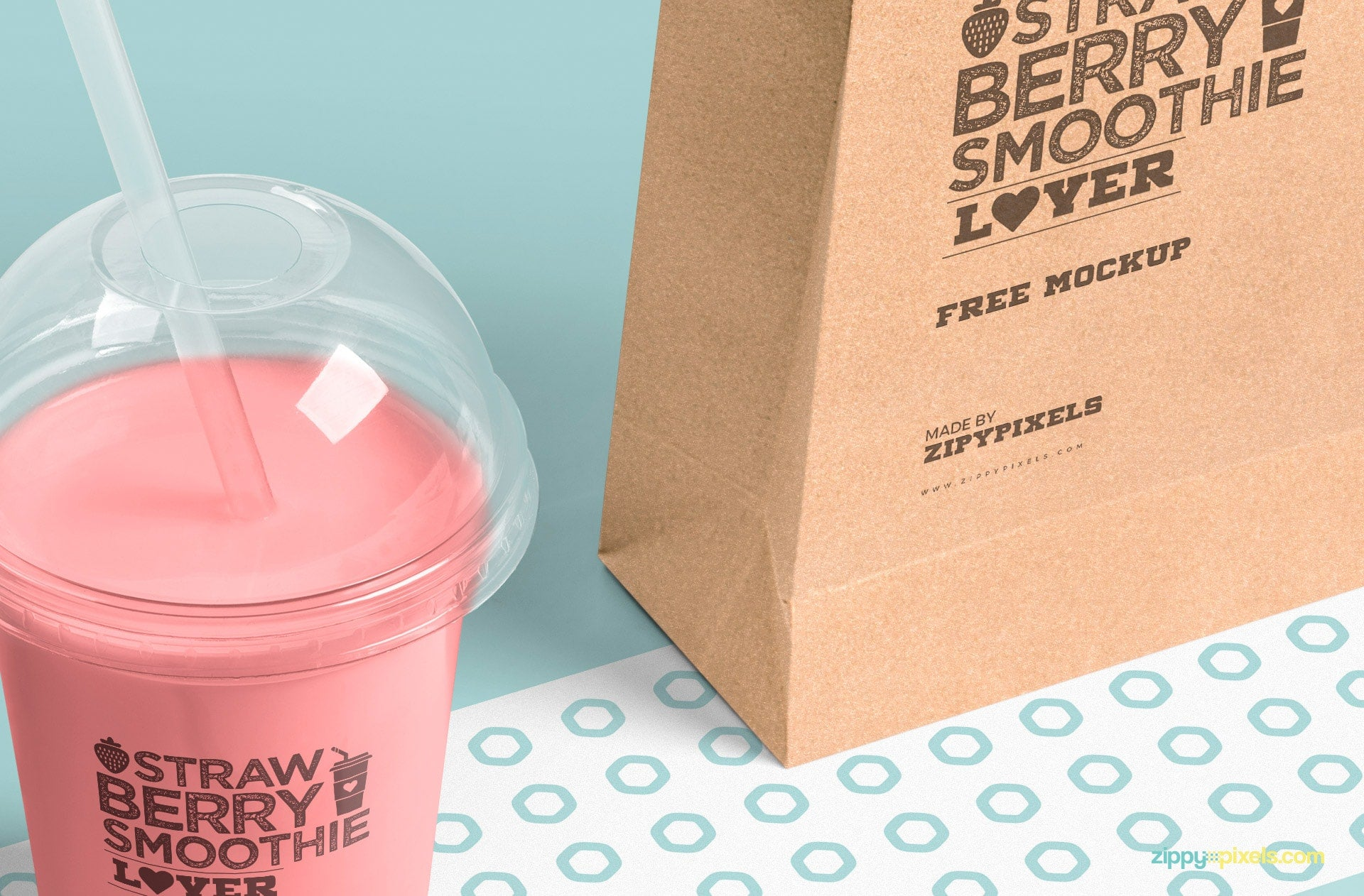 Free Mouth Watering Transparent Plastic Cup Mockup Creativebooster
