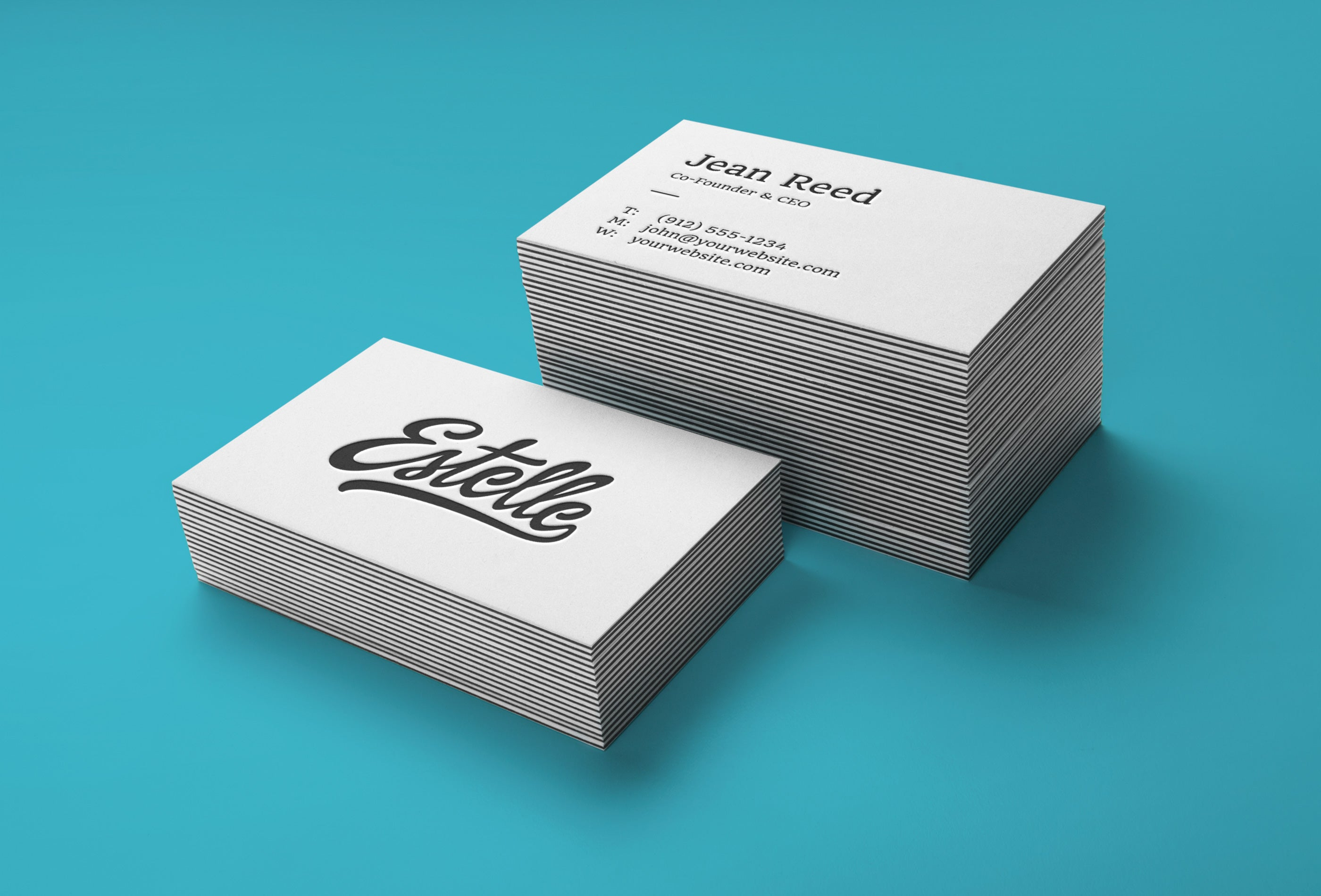 Free stack of white business card mockups creativebooster free stack of white business card mockups colourmoves