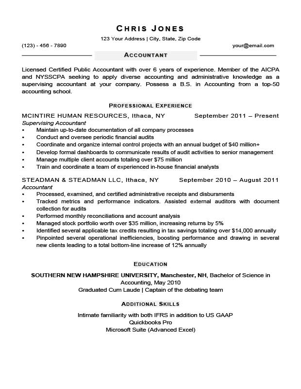 free resume templates page 8