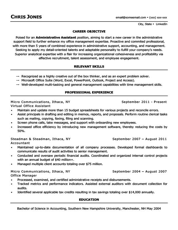 Home Mom Resume - A Good Resume Example •