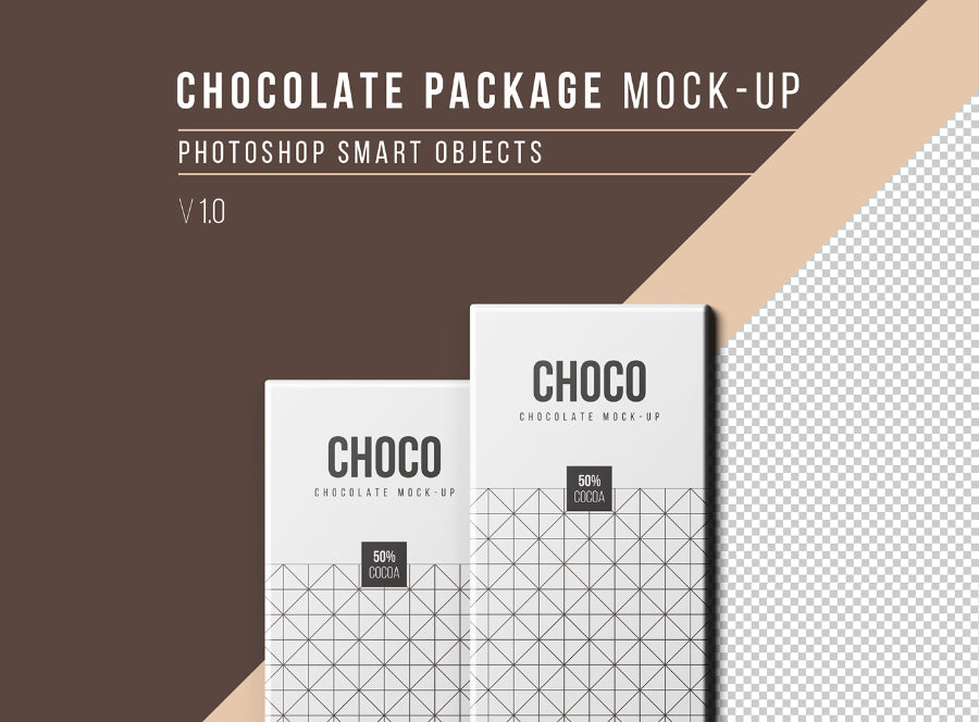 Free Clean And Realistic Chocolate Packaging Mockup Creativebooster