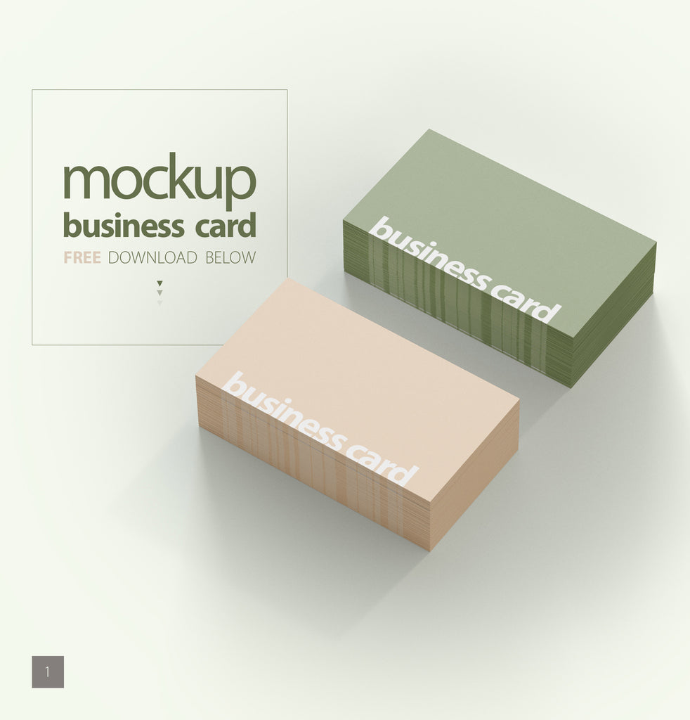 Free business card mockups creativebooster free business card photoshop psd mockup bundle reheart Image collections