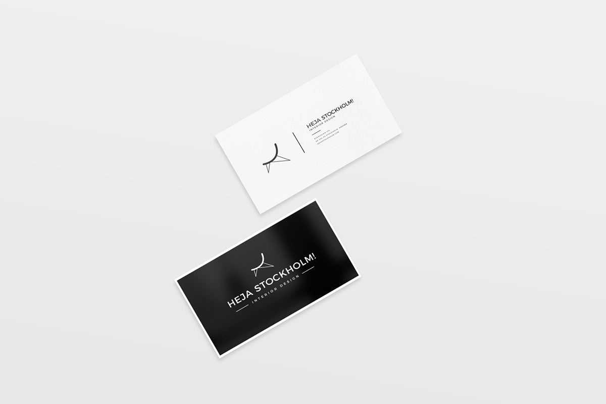 8 free clean business card mockups creativebooster 8 free clean business card mockups reheart Image collections