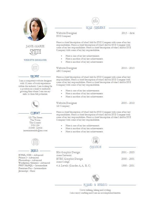 Resume Template Word 2010 from cdn.shopify.com