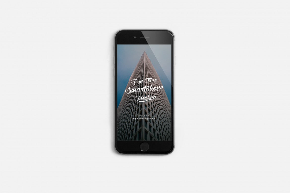 mockup cover iphone 6