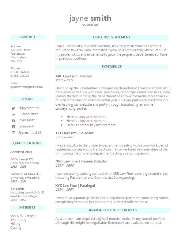 free legal cv resume template in microsoft word  docx  format