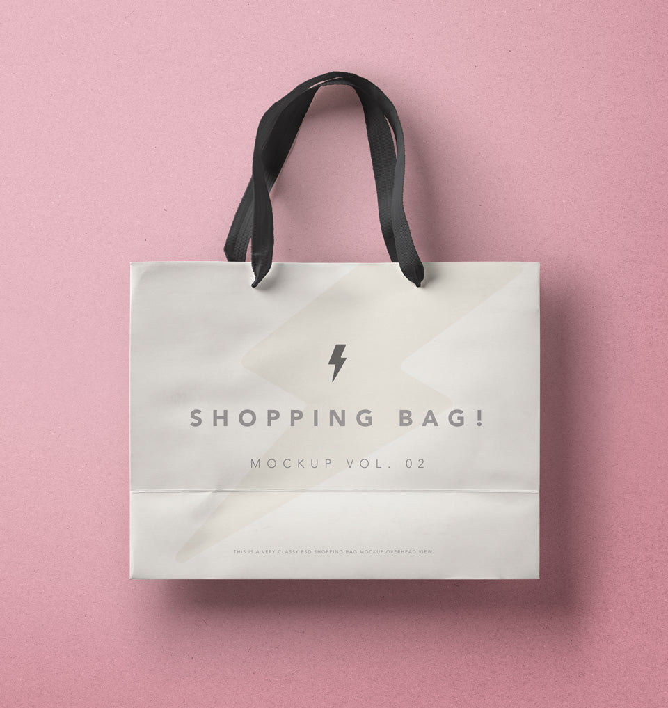 Free Shopping Bag Psd Mockup Creativebooster