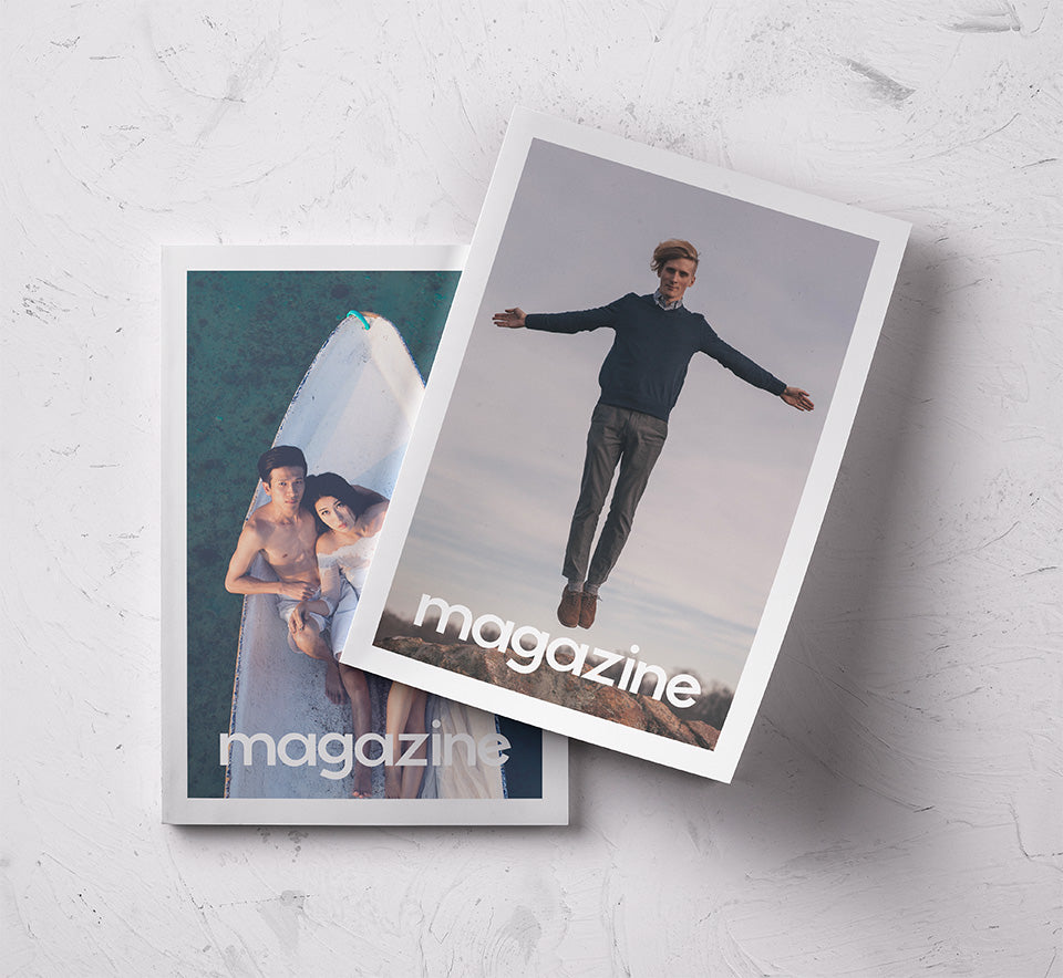 Free Magazine & Book Mockups - CreativeBooster