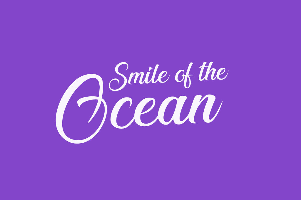 Free Smile Of The Ocean Handwriting Font