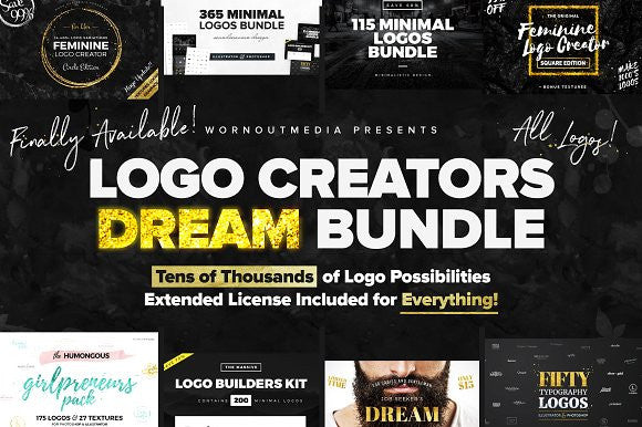 Logo Creators Dream Bundle (All Logos)