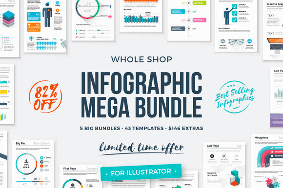 Infographic Mega Bundle - 82% Off