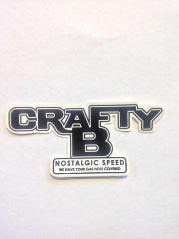 Crafty B Nostalgic Speed decal