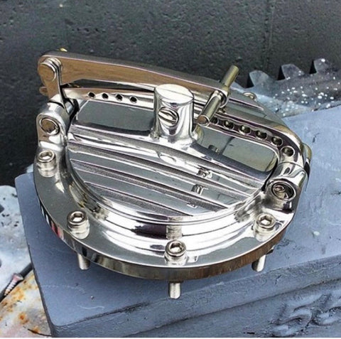 Fully polished finned lid RACER