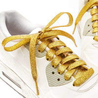 Glitter Shoelaces for Kids, 12 Colors (47 Inches, 12 Pairs)