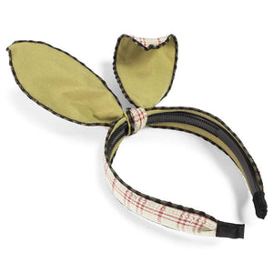 Plaid Bunny Ears Headbands for Easter (3 Pack)