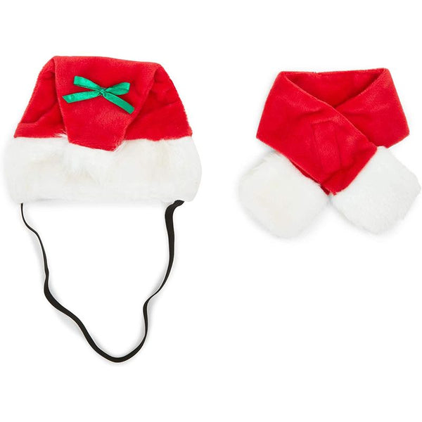 Zodaca Christmas Hats for Dogs, Santa Claus (2-Pack)