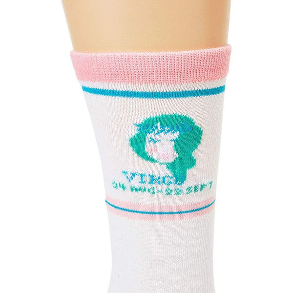 Crew Socks for Women, Virgo (2 Pairs)